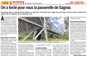 25 06 2020 On A Teste Pour Vous Lea Passerelle De Gagnac