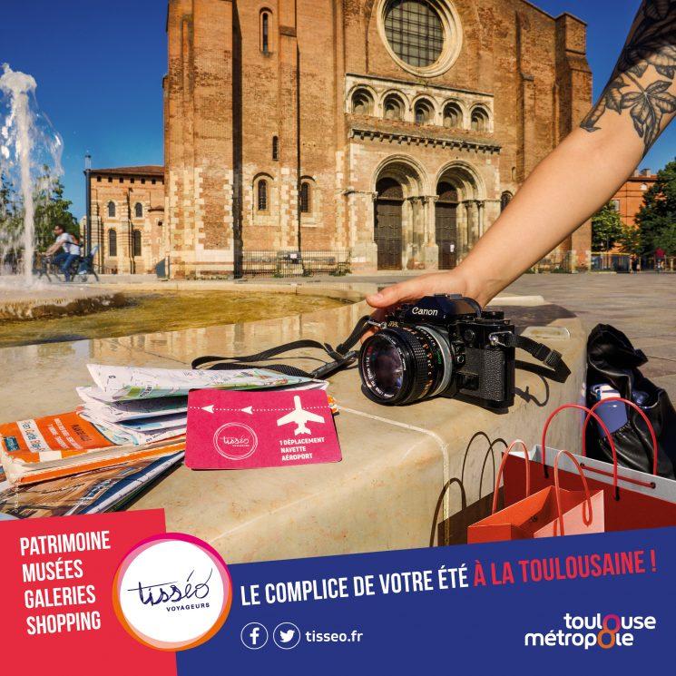 Voyager dans Toulouse cet été avec Tisséo