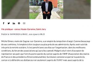 10 09 2020 Michel Simon élu Auprès De L'AMF