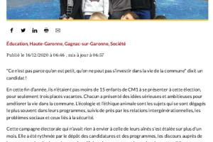 16 12 2020 Election Du Conseil Municipal Des Enfants P1