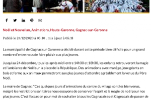 24 12 2020 Animations De Noël Et Colis Gourmands