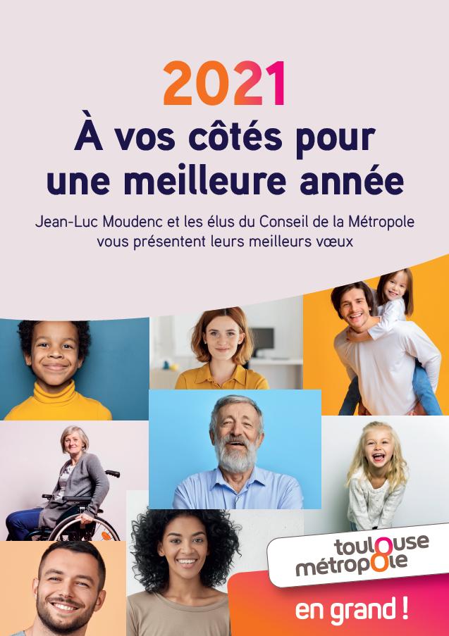 Vœux 2021 de Toulouse Métropole