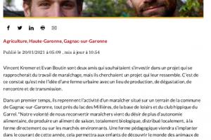 20 01 2021 Vincent Et Evan Rêvent D'une Ferme Urbaine