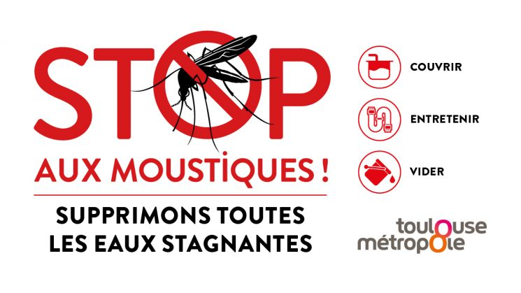 AGIR contre les moustiques : des gestes simples