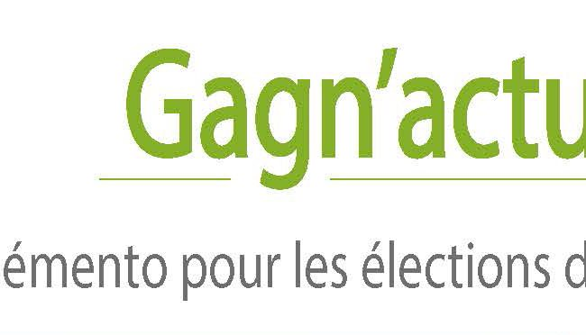 MODALITES DES PROCHAINES ELECTIONS